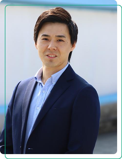 代表取締役社長田島 貞夫